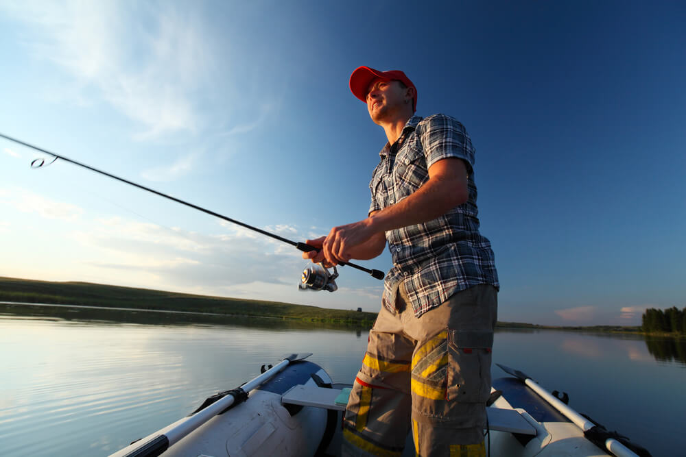 benefícios da pesca esportiva