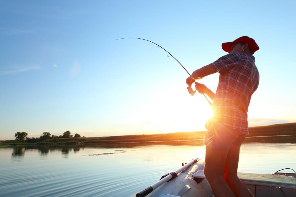 carretilha de pesca
