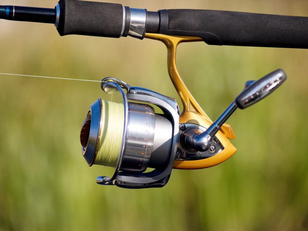 molinete para pesca