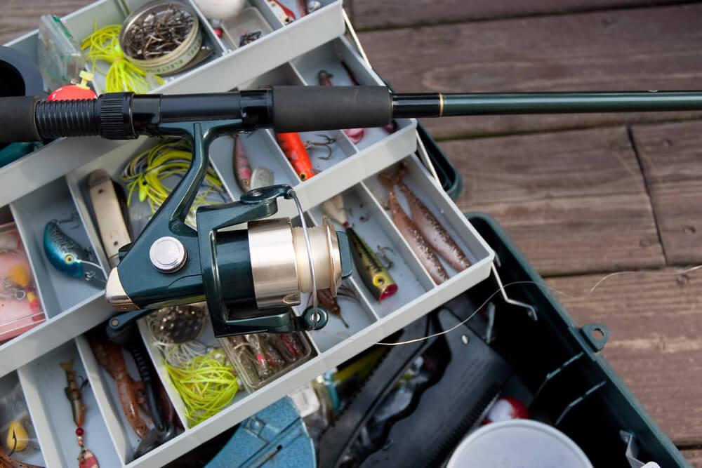 linha de pesca