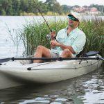 pesca com caiaque