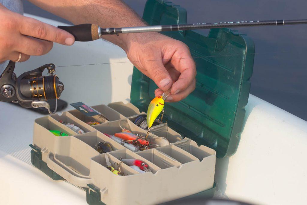itens de pesca