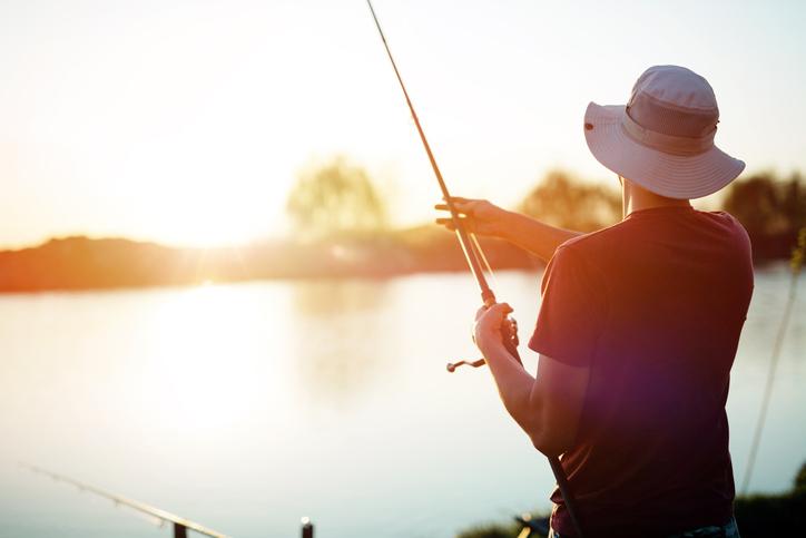 pescaria em furnas