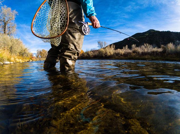 pesca com mosca