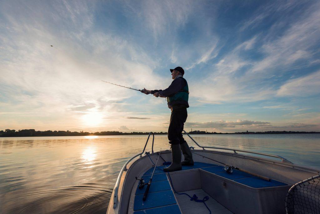 pescar fora do brasil