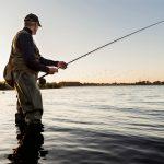 boné para pesca