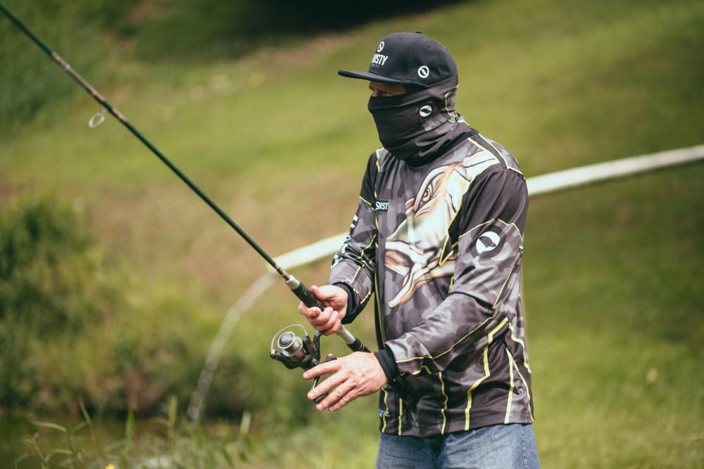 como se veste um pescador
