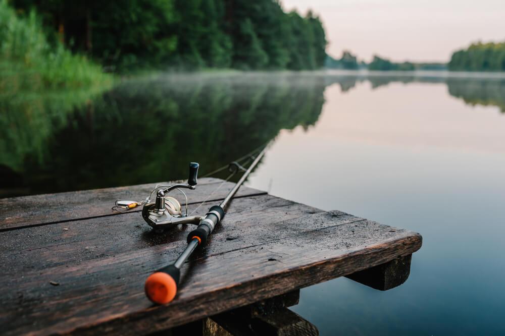 equipamentos pesca esportiva