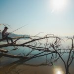 pesca no frio