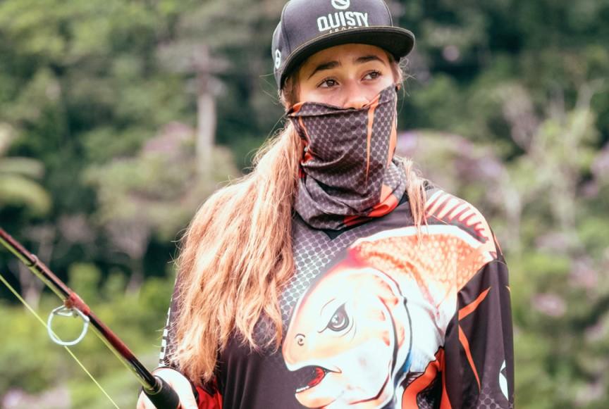 roupa para pesca feminina
