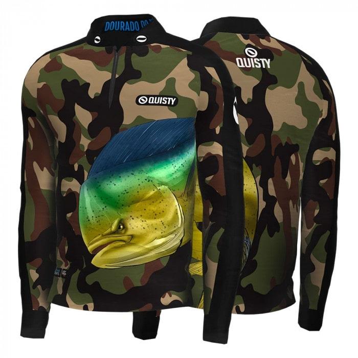 peixes de água salgada camisa de pesca