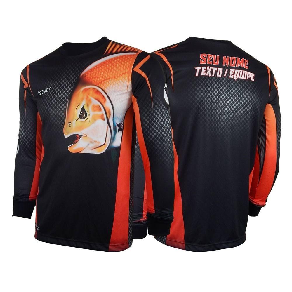 modelos de camisa de pesca fisgada bruta tambaqui