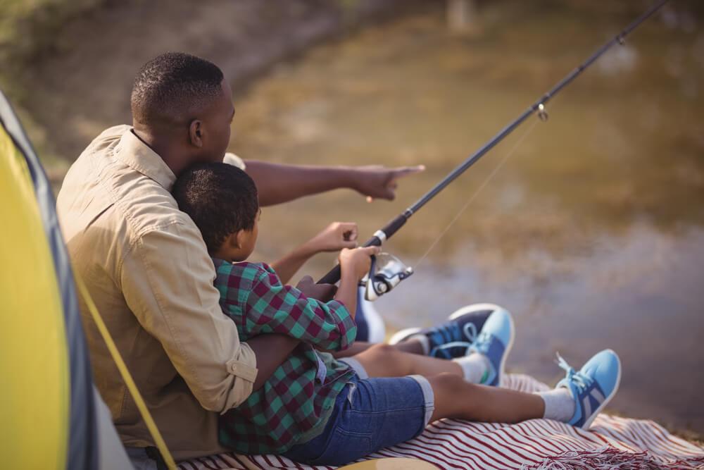 presente para pai pescador