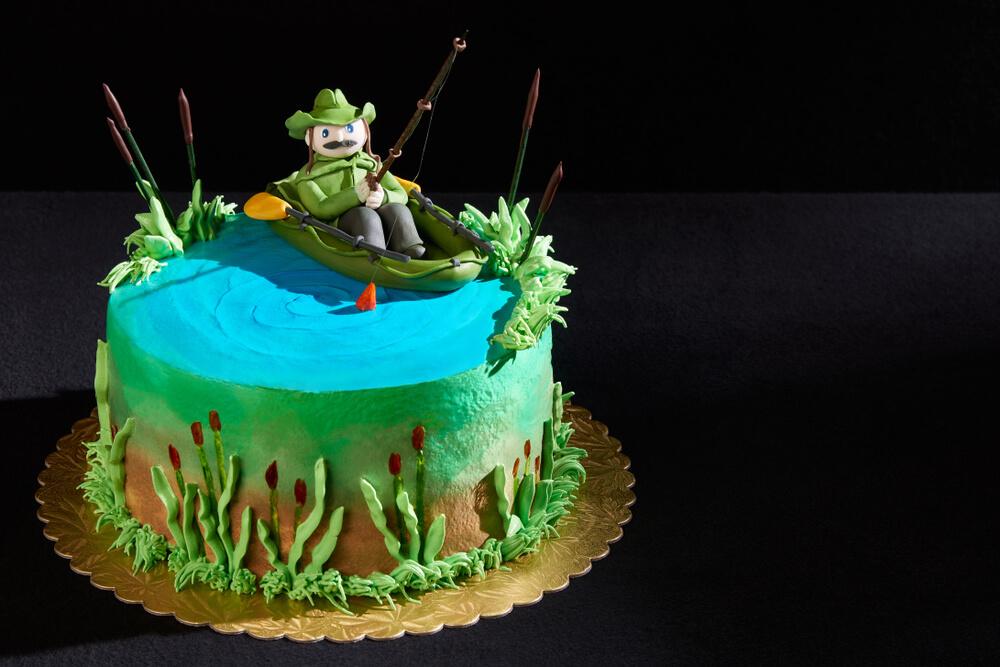 aniversário tema pescaria
