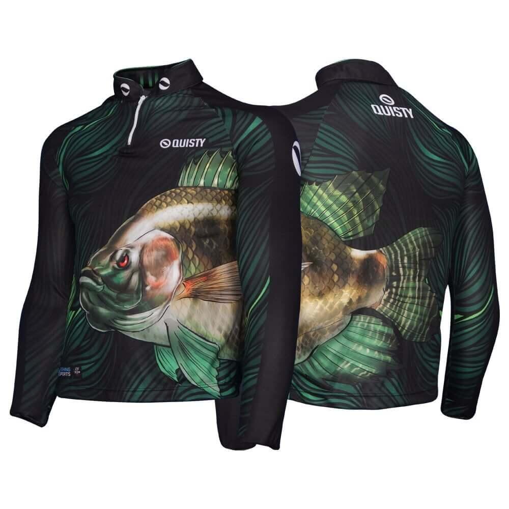 camisa de pesca manga longa Camisa Pro Elite Tilápia