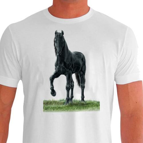camisa cavalo Camiseta Casual Mangalarga